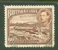 British Guiana: 1938/52   KGVI   SG315   60c      Used - Brits-Guiana (...-1966)