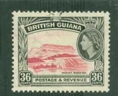 British Guiana: 1954/63   QE II - Pictorial   SG340     36c      Used - Guyane Britannique (...-1966)