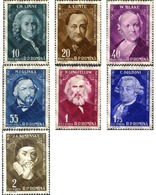 Ref. 167736 * MNH * - ROMANIA. 1958. CULTURAL ANNIVERARIES . ANIVERSARIOS CULTURALES - 1948-.... Repúblicas