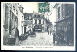 Cpa Du  36 Issoudun Carrefour De La Pomme De Pin DEC19-34 - Issoudun