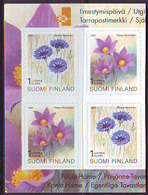 Finlandia 2001  Yvert Tellier  1534/35 Flores  ** - Unused Stamps