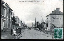 72, Cateau Du Loir, Avenue De La Gare - Chateau Du Loir