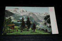 9545        WENGEN MIT JUNGFRAU, MITTAGHORN, GROSSHORN UND BREITHORN - BE Berne
