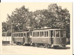 Photo - Tramway  à Hagondange - Moselle - 57 UCPMI Beau Format - Gros Plan - Treinen