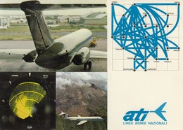 Aviazione - Compagnie Aere - Ati - Linee Aeree Nazionali - Non Comune - Aviation
