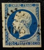109- 14 A- PC 1643 Lannion Côtes Du Nord 21 - 1853-1860 Napoléon III.