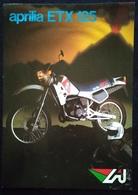 """08852 """"APRILIA ETX 125"""" VOLANTINO ILLUSTR. ORIG. - Motor Bikes"""