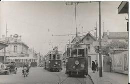 Photo - Tramway  à Toulouse -  Barrière - Les Bouleaux ?? - - Trains