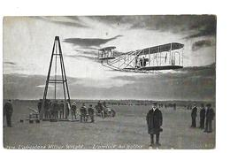 L'aéroplane Wilbur Wright - L'arrivée Au Pylône - Au Dos Pub G Lelong Mayenne - Aviateurs