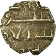 Monnaie, Inde, Habbarids Of Sind, Ahmad, Damma, 1010-1040, TB+, Argent - India