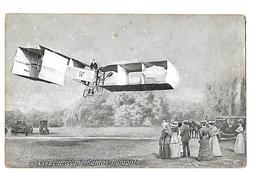 L'aéroplane Santos Dumont - Au Dos Pub G Lelong Mayenne - Aviateurs