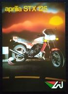 """08852 """"APRILIA STX 125"""" VOLANTINO ILLUSTR. ORIG. - Motor Bikes"""