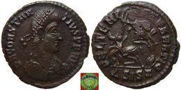 LaZooRo: Roman Empire - AE3 Of Constantius II (337-361 AD), FEL TEMP REPARATIO, Horseman - 7. L'Empire Chrétien (307 à 363)