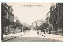 03 - MONTLUCON - Avenue Jules Ferry  - 1284 - Montlucon