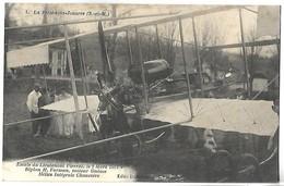 LA FERTE SOUS JOUARRE - Escale Du Lieutenant Pierrat - 1 Mars 1912, Moteur Gnôme, Hélice Intégrale Chauvière - La Ferte Sous Jouarre