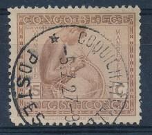 """BELGISCH-KONGO - OBP Nr 110 - Cachet """"COQUILHATVILLE - POSTES"""" - (ref. 93) - Congo Belge"""