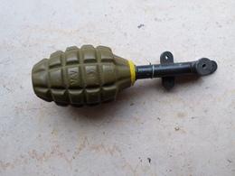 Grenade US Mk2 Ww2 Allumeur à Pression Neutralisée - Armes Neutralisées