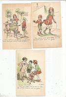 Cp, Illustrateur , Signée POULBOT , éd. Bedos & Cie , Publicité JAKO , LOT DE 6 CARTES POSTALES VIERGES - Poulbot, F.