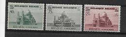 België  N° 481/483  Xx Postfris  Cote 19,00 Euro - Belgio
