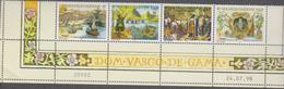 NOUVELLE CALEDONIE 1 Bande 4 T Neufs Xx Date N°YT 764 à 767 - 24.07.98 - 500ans Découverte Route Des Indes Vasco De Gama - Nouvelle-Calédonie
