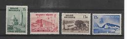 België  N° 484/487  Xx Postfris  Cote 15,00 Euro - Nuevos