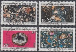 Afars Et Issas (Territoire Des) - N° 368 à 371 (YT) Oblitérés. Belles Oblitérations De Djibouti. - Afars E Issas (1967-1977)