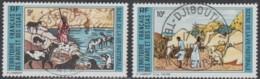 Afars Et Issas (Territoire Des) - N° 381 & 382 (YT) Oblitérés. Belles Oblitérations De Djibouti. - Oblitérés