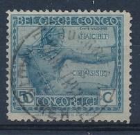 """BELGISCH-KONGO - OBP Nr 112 - Cachet """"COURRIER DE HAUTE-MER - ELISABETHVILLE"""" - (ref. 98) - Congo Belge"""