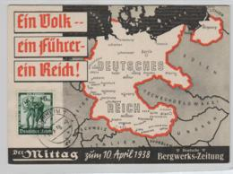 NS.-Propaganda Karte- Ein Volk    (ko2915   ) Siehe Scan - Storia Postale