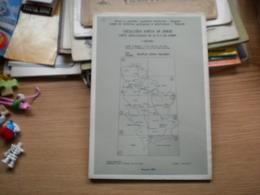 Geolosko Karta Sr Srbije Carte Geologique De La R S Serbie  Skoplje Kriva Palanka - Mappe