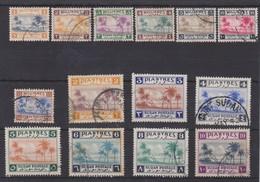 SUDAN 1941 SET TO 10P SG 81/94 FINE USED HIGH CATALOGUE VALUE - Sudan (...-1951)