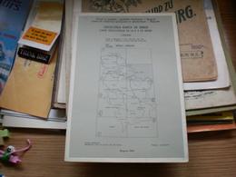 Geolosko Karta Sr Srbije Carte Geologique De La R S Serbie  Vrsac Orsava - Mappe