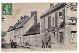 Neuilly En Thelle - Rue De Paris - Hôtel Du Cheval Blanc - éd. E Vaillant - France