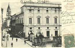 Ariceale Vilietta Leonardo Vico E Palazzo Fioristella  + Timbre Cachet RV - Catania