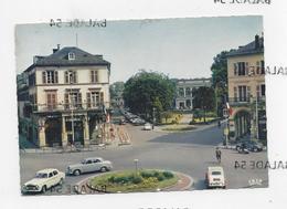 CPM - MULHOUSE (68) Place De La République (très Animée : Bar, Voitures, Peugeot 403, Citroen 2CV, Vélo, Scooter...) - Mulhouse