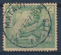 """BELGISCH-KONGO - OBP Nr 118 - Cachet """"MATADI - POSTES"""" - (ref. 104) - Congo Belge"""