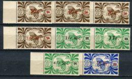 NOUVELLE-CALEDONIE ( POSTE ) : Y&T  N°  230/243  TIMBRES  NEUFS  SANS  TRACE DE CHARNIERE , GOMME  BICOLORE , A  VOIR . - New Caledonia