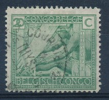 """BELGISCH-KONGO - OBP Nr 118 - Cachet """"COURRIER DE HAUTE-MER - S/s THYSVILLE"""" - (ref. 105) - Congo Belge"""