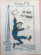 (2871) Het Leger - Ik Kom Met Verlof - Verlofbrief - Humour