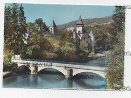 CPM - CLERON (25) Le Château Et Le Pont Sur La Loue - Autres Communes