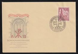 Berlin 1953 Michel Nr. 108 FDC Gedächtniskirche, Michel 150,-€ - FDC: Covers