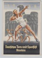 NS.-Propaganda Karte- Breslau...     (o2971  ) Siehe Scan - Germany