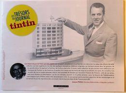 Flyer Prospectus Concours Les Trésors De TINTIN Hergé Leblanc Lombard Clifton Ric Hochet Cubitus Spaghetti ... - Boeken, Tijdschriften, Stripverhalen