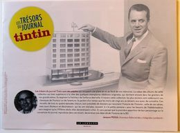 Flyer Prospectus Concours Les Trésors De TINTIN Hergé Leblanc Lombard Clifton Ric Hochet Cubitus Spaghetti ... - Bücher, Zeitschriften, Comics