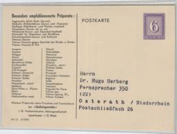 D.-Reich Nette PP.-Ganzsache- Werbung.  ..     (ko3131  ) Siehe Scan - Interi Postali