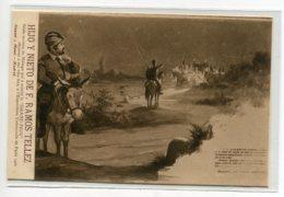 ESPAGNE  MALAGA Publicité Vins  F RAMOZ TELLEZ Don Quijote Parte Primera Capitulo XIX    D20 2019 - Málaga