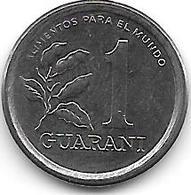*paraguay 1 Guarani 1984  Km 165  Unc - Paraguay