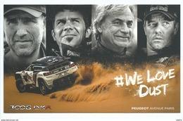 Peugeot - Rallye Paris Dakar 2017 - Nouvelle Peugeot 3008 DKR Total - Cyril Despres Stéphane Peterhansel - Rally Racing