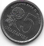 *paraguay 5 Guaranies 1984  Km 166  Unc - Paraguay