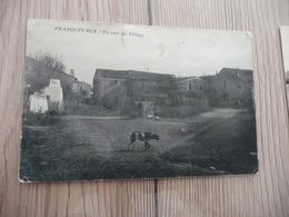 CPA 30 Gard Franquevaux Un Coin Du Village - France